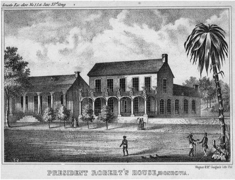 president-roberts-house