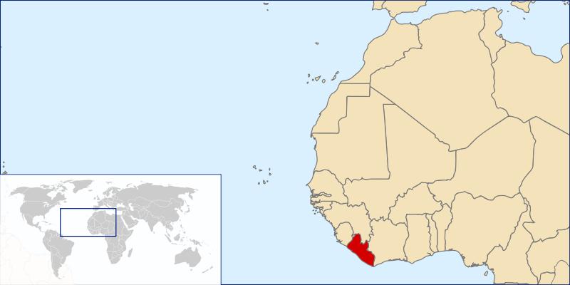 liberia-location